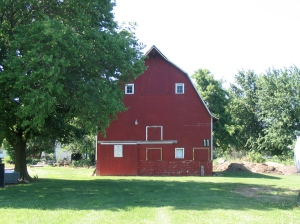 The Red Barn © Prairie Land Heritage Museum Institute, 2014.